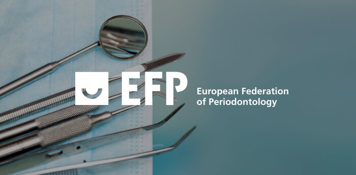 Screenshot of The European Federation of Periodontology (EFP)