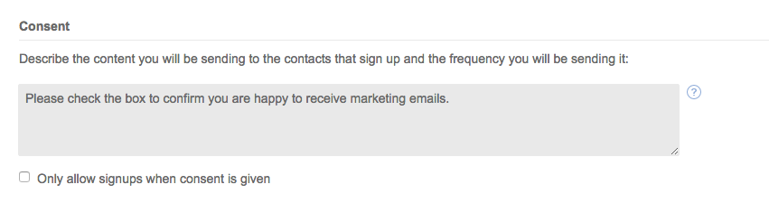How To Re Verify Your Mailing List For Gdpr In Campaign Monitor