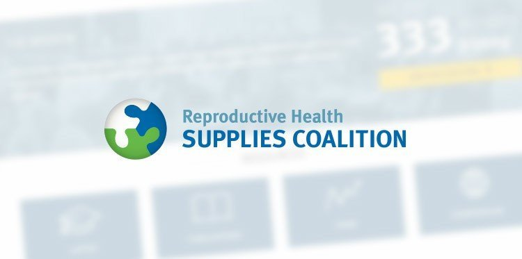 Screenshot of The Reproductive Health Supplies Coalition