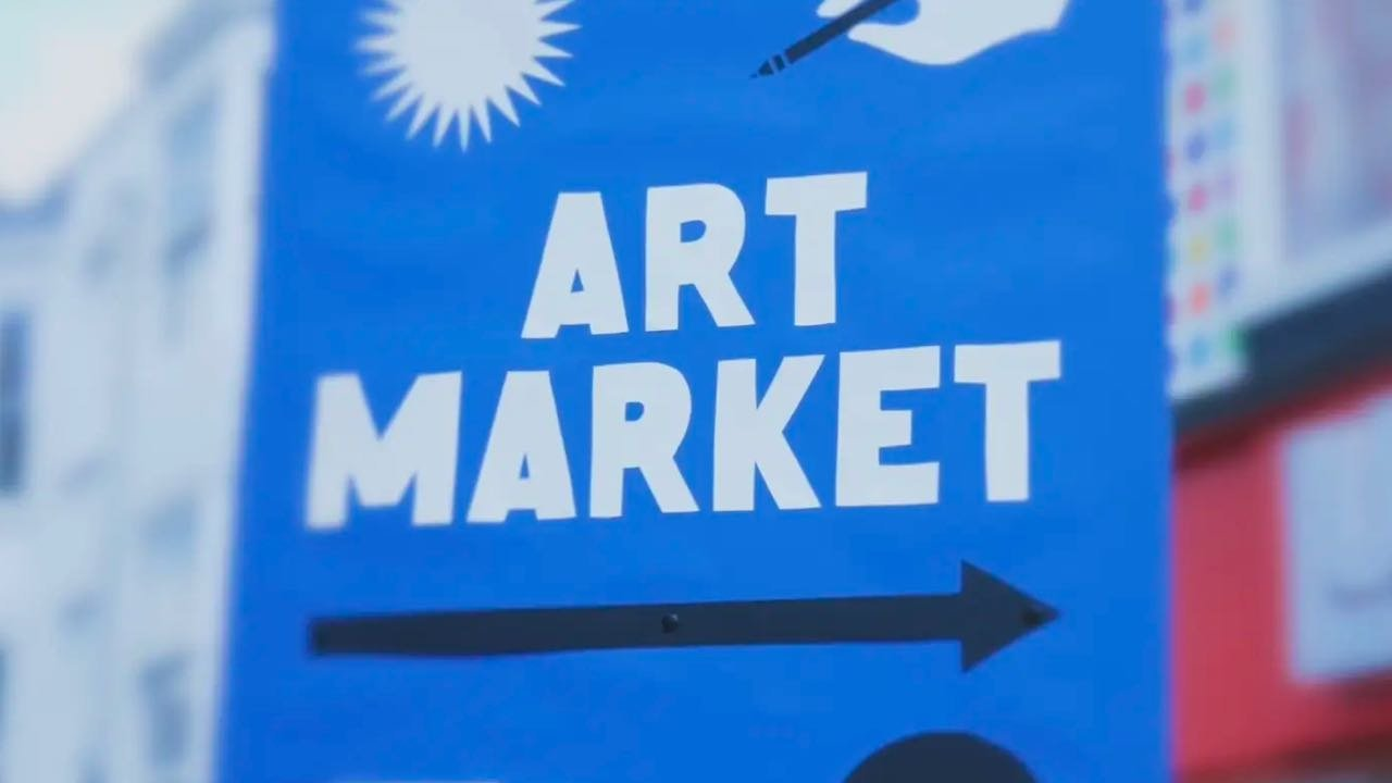 Creative Difference Art Market event coverage video