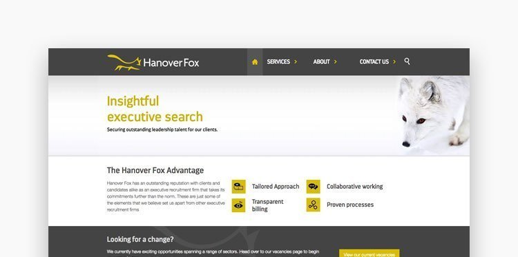 Screenshot of Hanover Fox