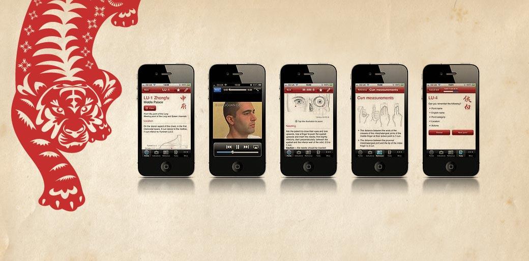 JCM - Manual of Acupuncture iOS app - Liquid Light